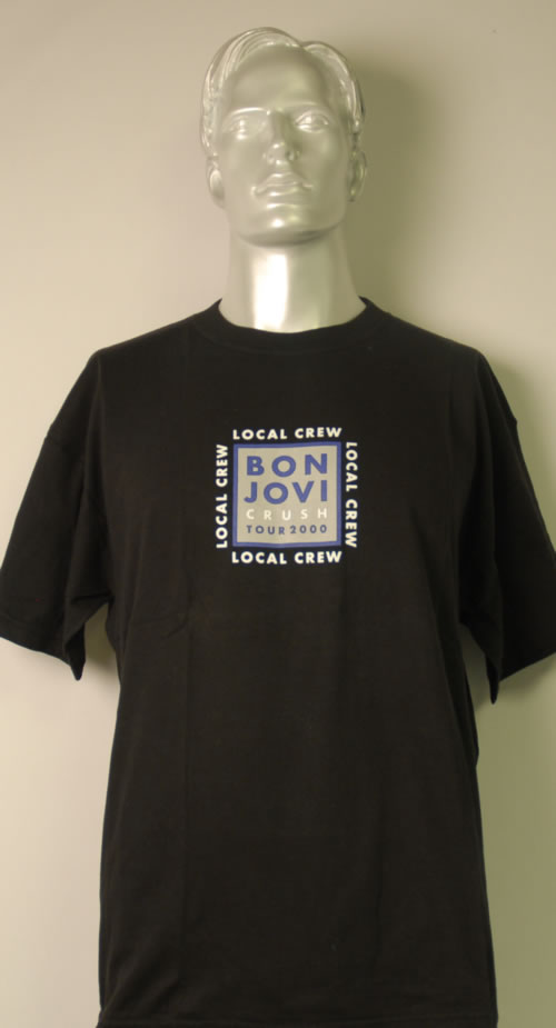 Bon Jovi Crush Tour 2000 2000 UK tshirt CREW TSHIRT