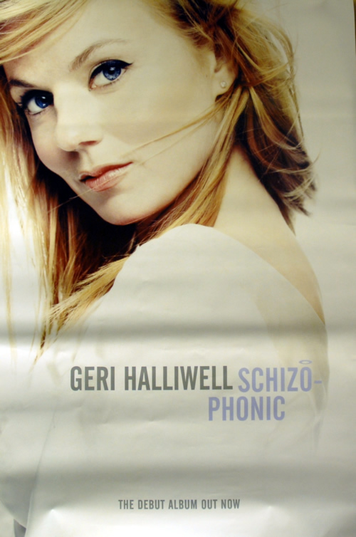 Geri Halliwell Schizophonic  Pair Of Posters 1999 UK poster 60 X 40