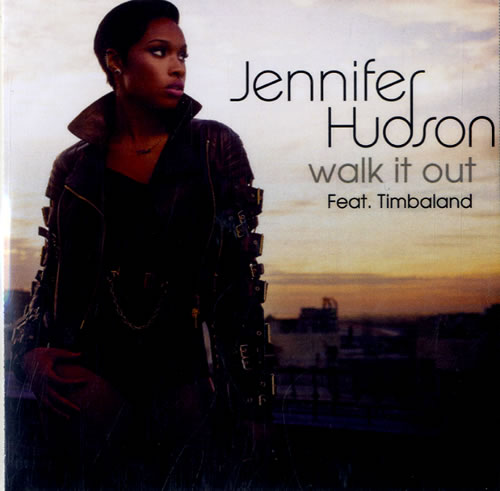 Jennifer Hudson Walk It Out 2014 UK CDR acetate CDR