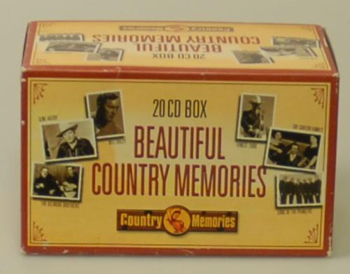 VariousCountry Beautiful Country Memories 2005 Dutch cd album box set IECM20001