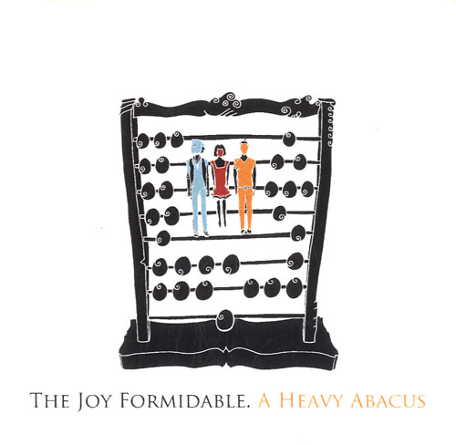 The Joy Formidable A Heavy Abacus 2011 UK CDR acetate CDR