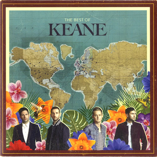 Keane (00s) The Best Of 2013 UK CDR acetate KEANECD9