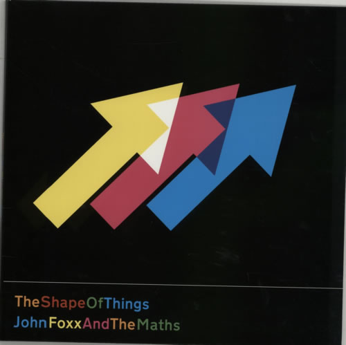 John Foxx Shape Of Things 2012 UK vinyl LP META29LP