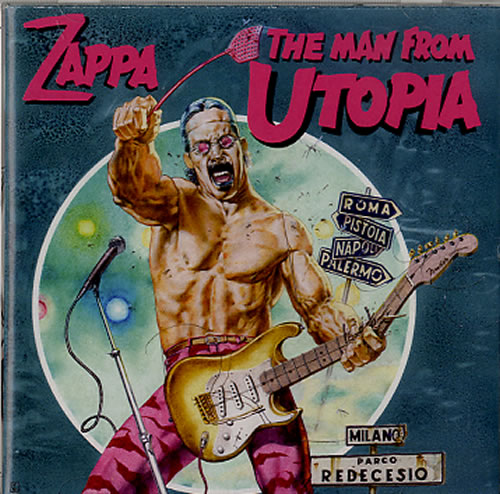 Frank Zappa The Man From Utopia 2012 UK CD album 0238662