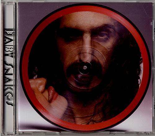 Frank Zappa Baby Snakes 2012 UK CD album 0238672