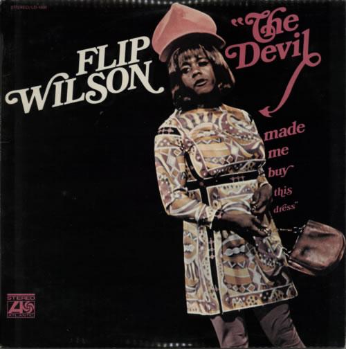 Flip Wilson The Devil Made Me Buy This Dress 1972 New Zealand vinyl LP LD1000
