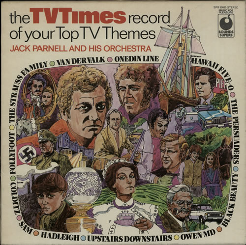 The Tv Times Record Of Your Top Tv Themes