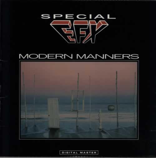 Special EFX Modern Manners 1985 USA vinyl LP GRPA1014