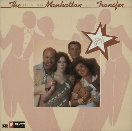 Image of The Manhattan Transfer Coming Out 1976 German vinyl LP ATL50291