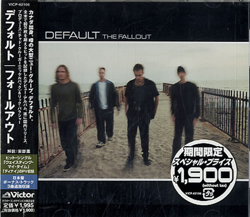 Default The Fallout  Sealed 2002 Japanese CD album VICP62106