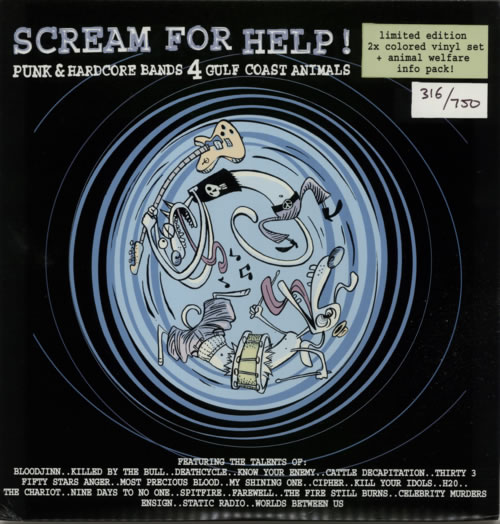 VariousPunk & New Wave Scream For Help!  Lime Green Vinyl 2006 USA 10 vinyl KOI010