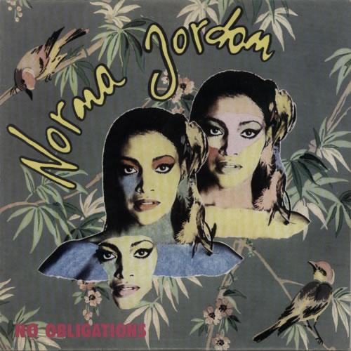 Image of Norma Jordan No Obligations 1980 Italian vinyl LP CIA1211