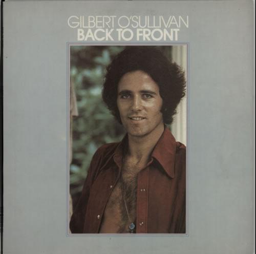Gilbert OSullivan Back To Front 1972 UK vinyl LP MAMSS502