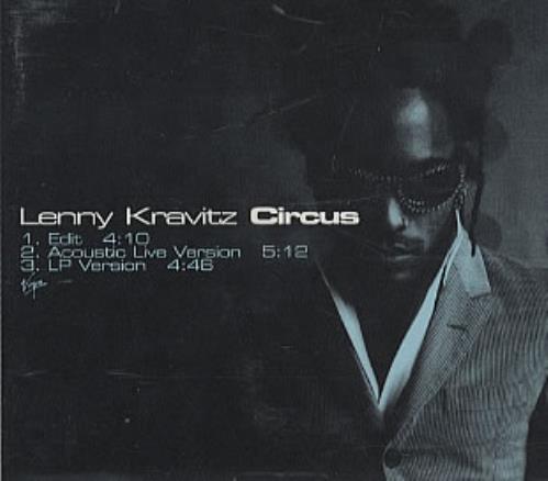 Lenny Kravitz Circus 1995 USA CD single DPRO11045