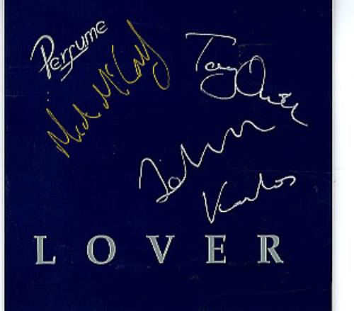 Perfume Lover  Autographed 1995 UK CD single AROMA003CDS