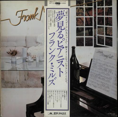 Frank Mills Sunday Morning Suite 1979 Japanese vinyl LP MPF1274