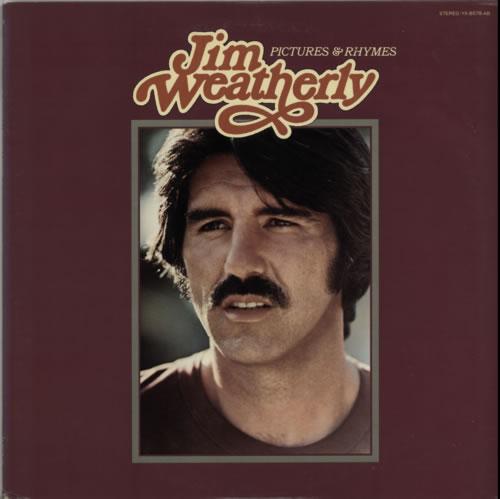 Jim Weatherly Pictures & Rhymes 1976 Japanese vinyl LP YX8078AB