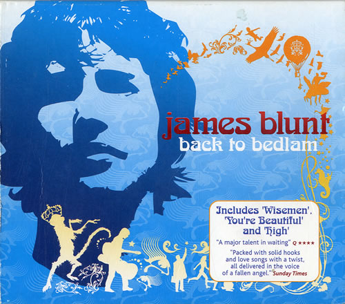 James Blunt Back To Bedlam 2004 USA CD album 7567837525