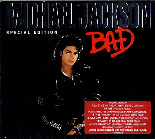 Jackson, Michael - Bad [special Edition] + Slipcase