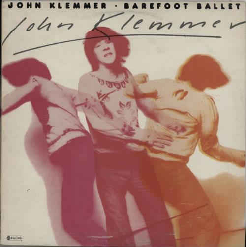 John Klemmer Barefoot Ballet 1976 UK vinyl LP ABCL5198