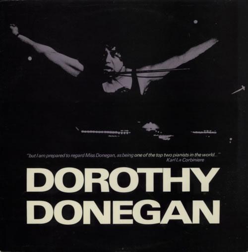 Dorothy Donegan Dorothy Donegan 1976 Swedish vinyl LP FLC5006