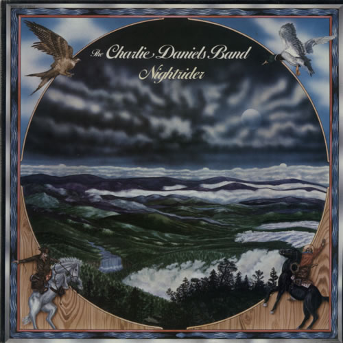 Charlie Daniels Nightrider 1975 USA vinyl LP KSBS2607