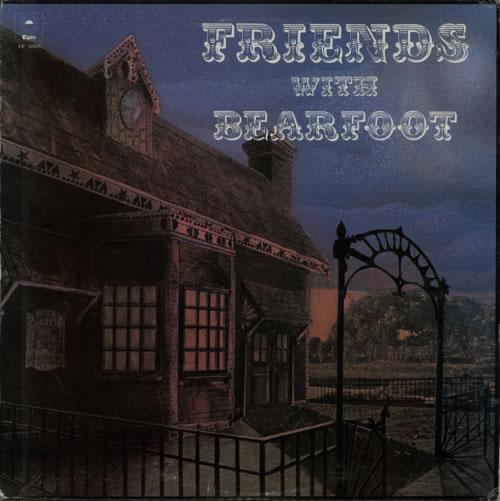 Bearfoot Friends With 1973 Canadian vinyl LP KE32653
