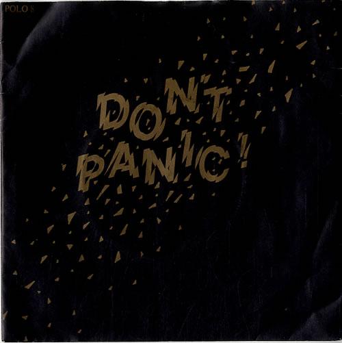 "Image of Liquid Gold Don't Panic 1980 UK 7"" vinyl POLO8"