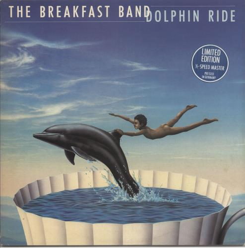The Breakfast Band Dolphin Ride 1982 German vinyl LP IOU001