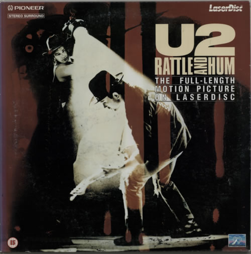 U2 Rattle And Hum 1988 Japanese laserdisc PLMPB01191