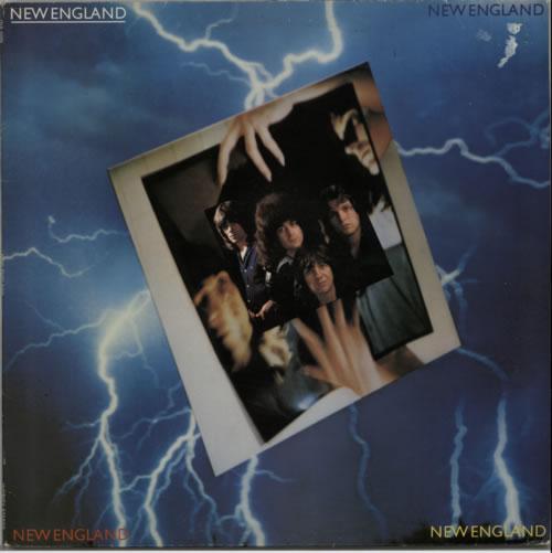 New England New England 1979 UK vinyl LP INS2005