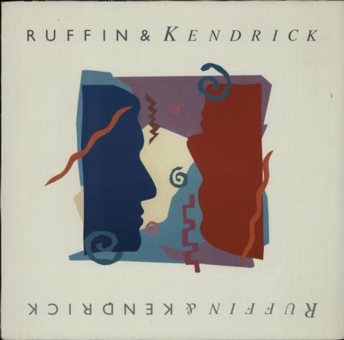 David Ruffin Ruffin & Kendrick 1987 German vinyl LP PL86765