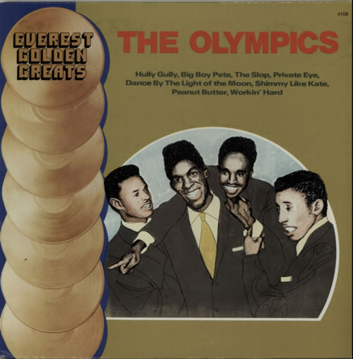 The Olympics Golden Greats USA vinyl LP 4109