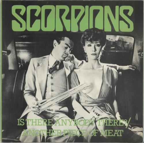 Scorpions - Is There Anybody There - Black Vinyl + P/s