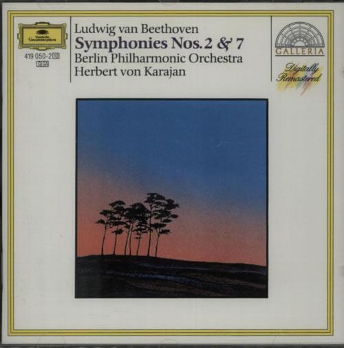 Beethoven, Ludwig Van - Symphonies Nos. 2 & 7