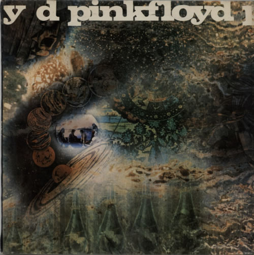 Pink Floyd A Saucerful Of Secrets  1st Export 1968 UK vinyl LP PSCX6258