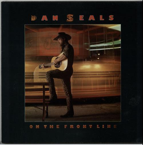 Dan Seals On The Frontline 1986 Dutch vinyl LP 0642406611