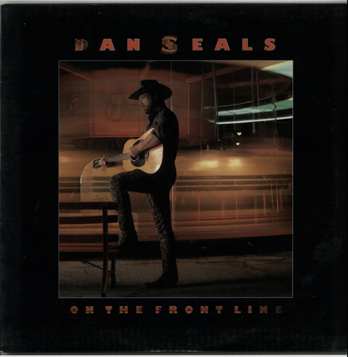 Dan Seals On The Frontline 1986 USA vinyl LP PW17231
