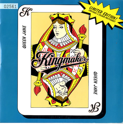 """Image of Kingmaker Queen Anne - Limited Edition 1993 UK 7"""" vinyl SCORCHP9"""