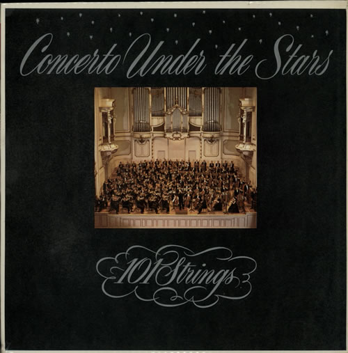 Various-Classical & Orchestral Concerto Under The Stars UK vinyl LP GGL0045