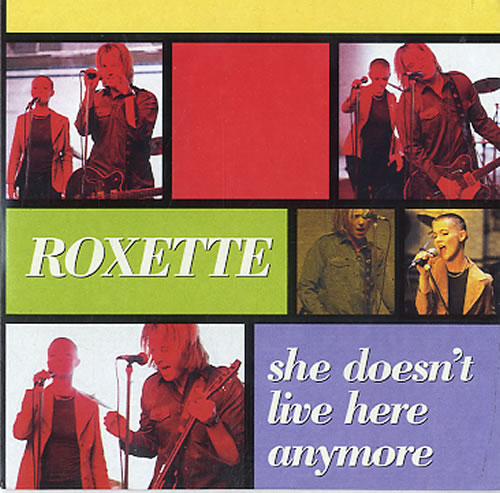 Roxette She Doesnt Live Here Anymore 1996 Dutch CD single 8652342