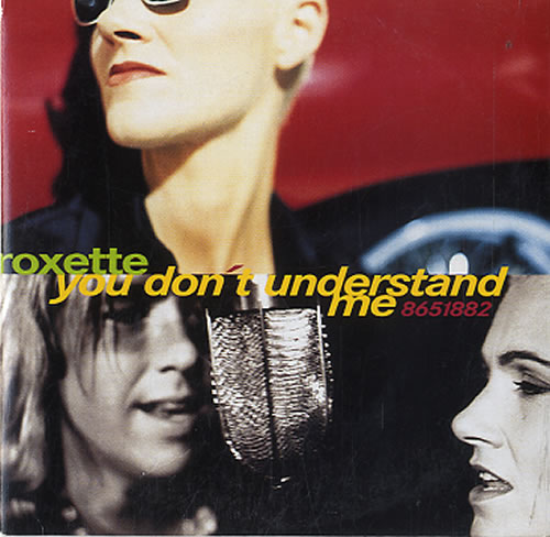 Roxette You Dont Understand Me 1995 Dutch CD single 8651882