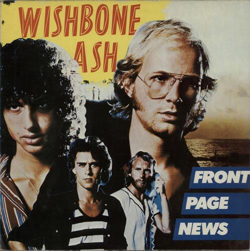 Wishbone Ash Front Page News 1977 Dutch vinyl LP 5C06299507