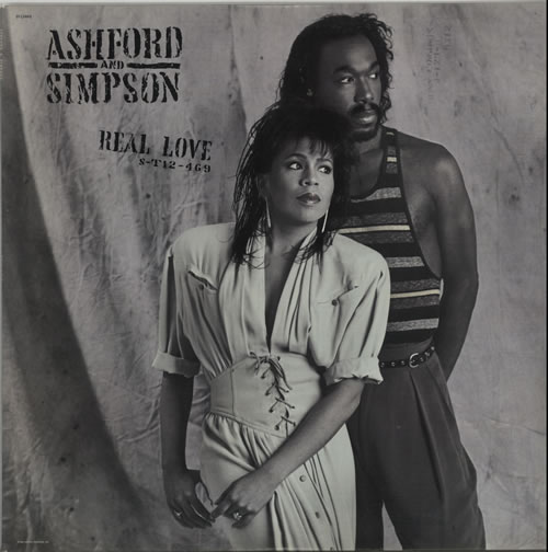 Image of Ashford & Simpson Real Love 1986 USA vinyl LP ST-12469