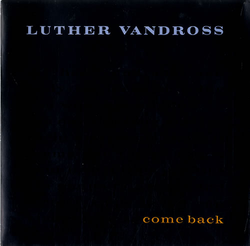 Vandross, Luther - Come Back Album