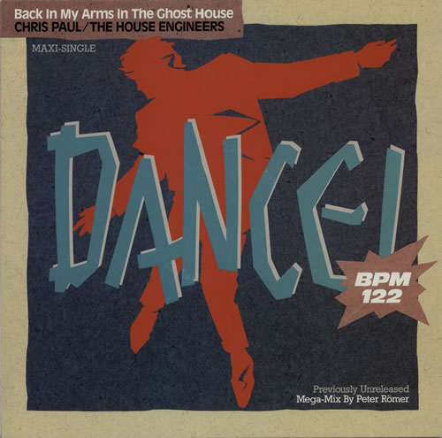 Chris Paul Back In My Arms In The Ghost House 1987 German 12 vinyl 1CK0602024626