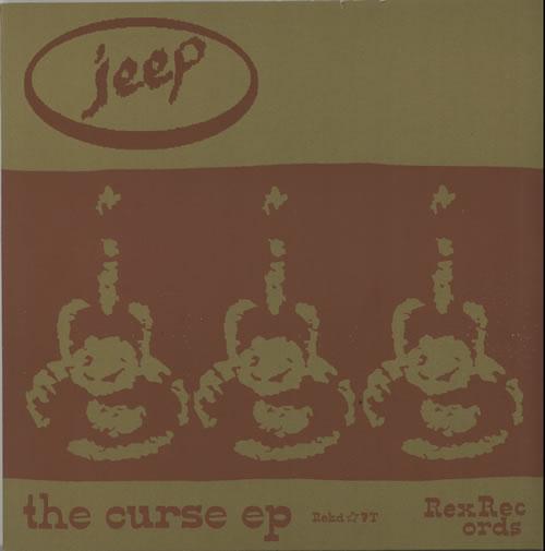 Jeep The Curse E.P. 1999 UK 10 vinyl REKD07T