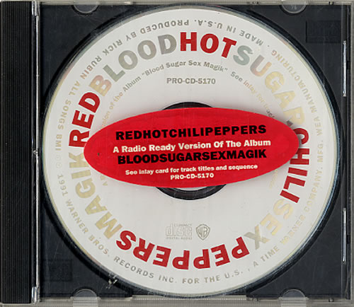 Red Hot Chili Peppers - Bloodsugarsexmagic - Radio Ready Version