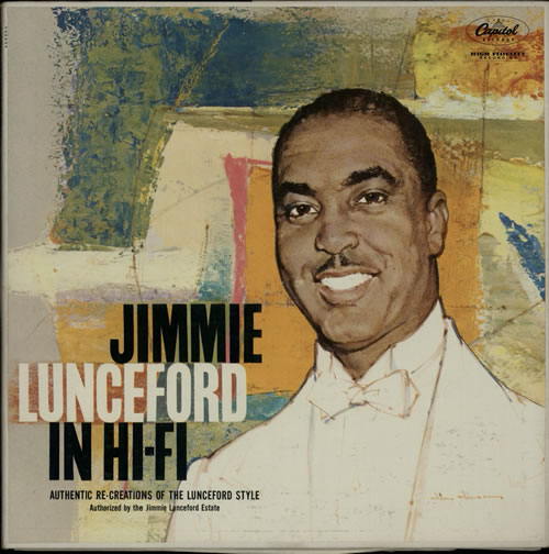 Jimmie Lunceford Jummie Lunceford In HiFi 1957 USA vinyl LP TAO924