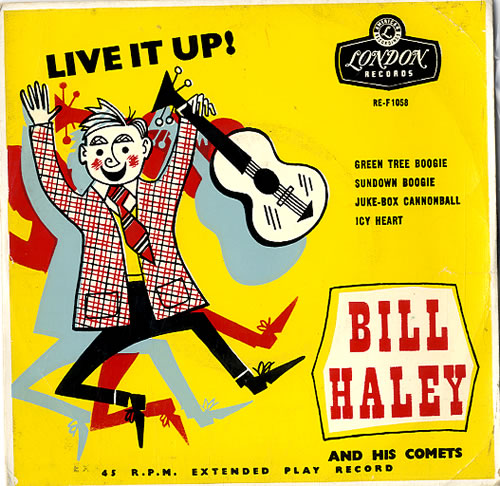 Haley, Bill & Comets - Live It Up!